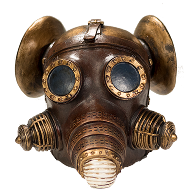 Steampunk Skull Product Photography