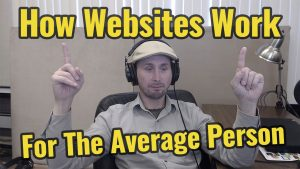 How A Website Works for the Average Person