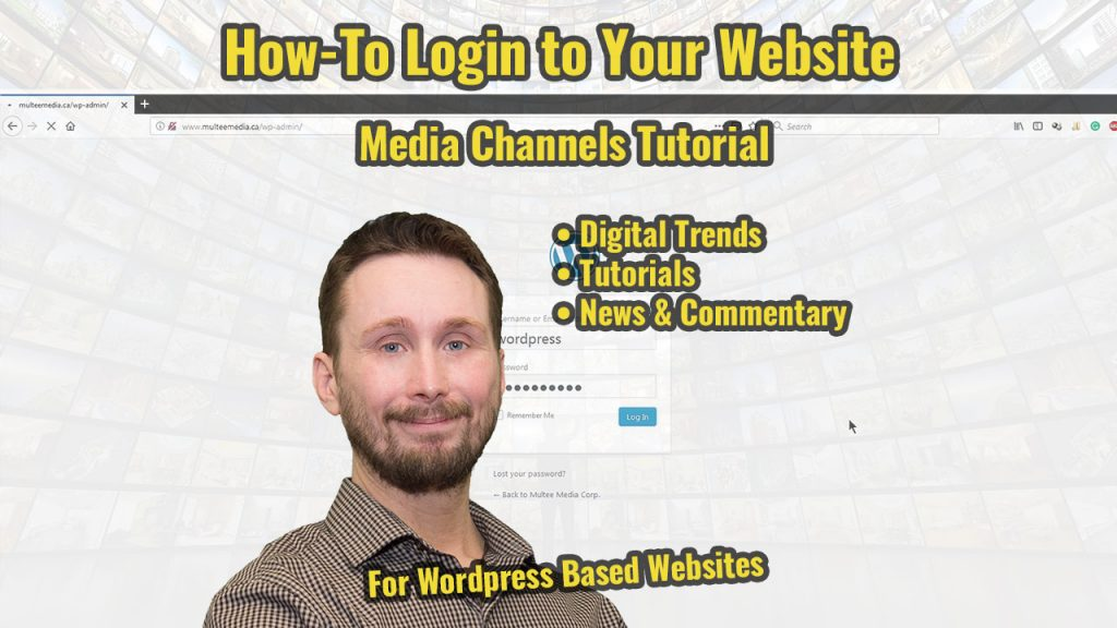 How to Login to Your Website