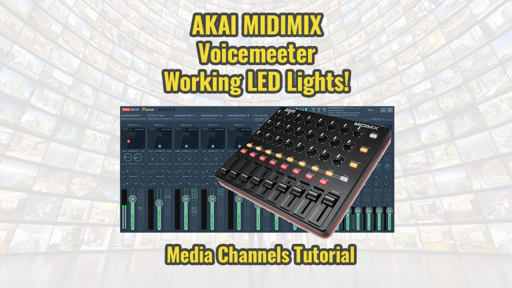 Akai Midimix and Voicemeeter Potatoe